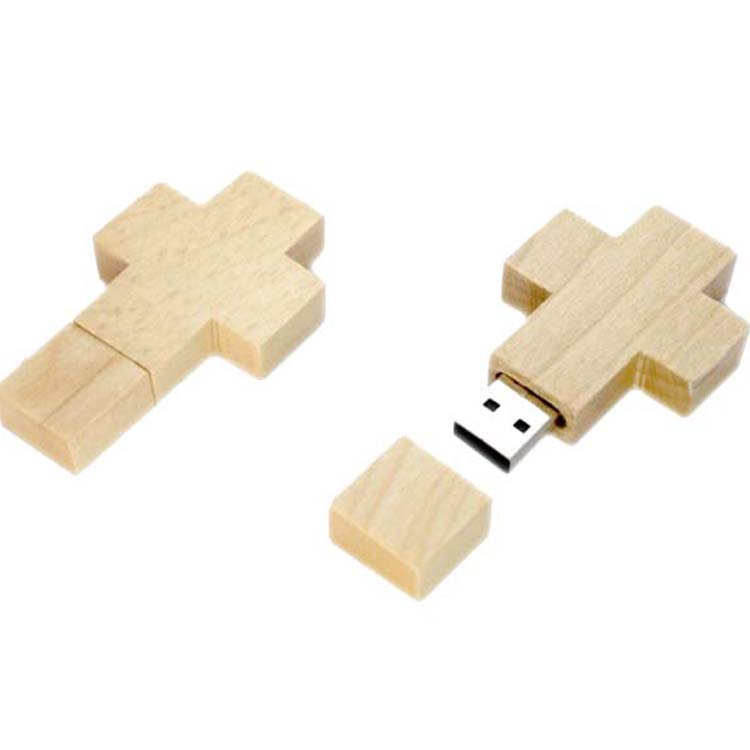 Maple wood USB flash drive H907